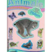 Animale din padure cu jocuri si abtibilduri