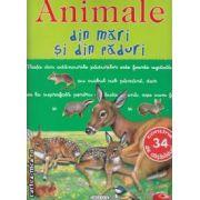 Animale din mari si din paduri cu abtibilduri