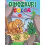 Dinozauri color numarul 3