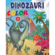 Dinozauri color numarul 2