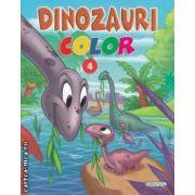 Dinozauri color numarul 4