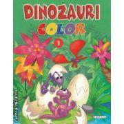 Dinozauri color numarul 1
