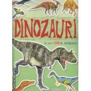Dinozauri carte cu peste 50 de abtibilduri