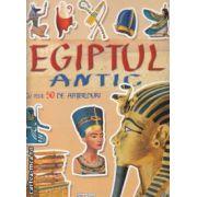 Egiptul antic carte cu peste 50 de abtibilduri