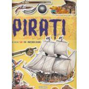 Pirati carte cu peste 50 de abtibilduri