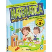 Matematica pas cu pas caiet de studiu pentru clasa a 2 a