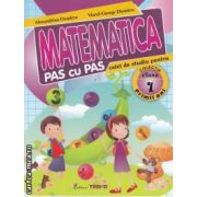 Matematica pas cu pas caiet de studiu pentru clasa 1
