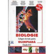 Biologie culegere de teste pentru olimpiada clasele IX-X