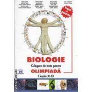 Biologie culegere de teste pentru olimpiada clasele XI-XII