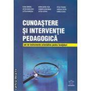 Cunoastere si interventie pedagogica