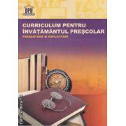 Curriculum pentru invatamantul prescolar