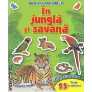 Jocuri si abtibilduri:In jungla si savana