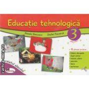 Educatie tehnologica caietul elevului clasa a III-a(editura Aramis, autori:Daniela Stoicescu,Stefan Pacearca isbn:978-973-679-852-8)