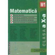 Matematica M1 clasa a X-a 2011(editura Campion, autori: Marius Burtea, Georgeta Burtea isbn: 978-606-8323-20-6)