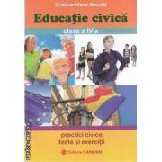 Educatie civica clasa a IV-a(editura Carminis, autor:Cristina-Diana Neculai isbn:978-973-123-121-1)