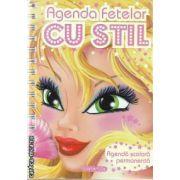 Agenda fetelor cu stil(editura Girasol, autor: Ed. Girasol isbn:978-606-525-180-9)