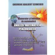 Analiza matematica pentru liceu(editura Hyperion, autor:Gheorghe Adalbert Schneider isbn:978-606-589-007-7 )