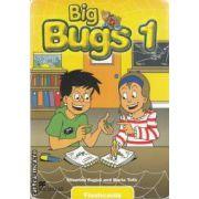 Big bugs 1 flashcards (editura Macmillan, autori: Elisenda Papiol, Maria Toth, ISBN: 978-1-4050-6172-8)