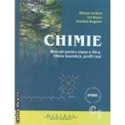 Chimie manual pentru clasa a XII - a filiera teoretica , profil real ( editura Mistral, autori: Marius Andruh,Ion Baciu,Daniela Bogdan isbn: 978-973-88418-0-2)