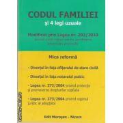 Codul familiei si 4 legi uzuale(editura Morosan, autori:Vasile Morosan,Raul Morosan,Maria Gues isbn:978-606-8033-42-6)