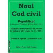 Noul cod civil(editura Morosan, autori:Editura Pedro,Editura Morosan isbn:978-606-92858-6-2)