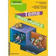 Teme de matematica clasa a VII-a semestrul I(editura Nomina, autor:Petrus Alexandrescu isbn:978-606-535-295-7)