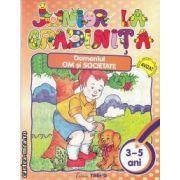 Junior la gradinita domeniul om si societate(editura Trend, autor: Cristina Stroescu isbn: 978-606-92916-4-1)