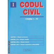 Codul civil cartile I-IV(editura Erc Press isbn: 978-606-602-160-9)