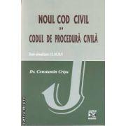 Noul cod civil si codul de procedura civila(editura Juris Argessis, autor: Dr. Constantin Crisu isbn: 978-973-8974-20-3)