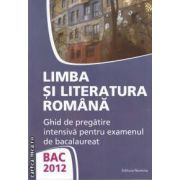 Limba si literatura romana Bac 2012(editura Nomina, autor: Monica Jeican isbn: 978-606-535-314-5)
