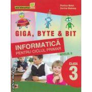 Informatica pentru ciclul primar nivelul II clasa a III-a(editura Paralela 45, autori: Rodica Matei, Dorina Mateias isbn: 978-973-47-1251-9)