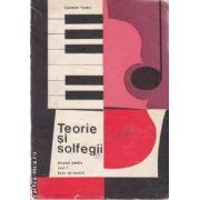 Teorie si solfegii manual pentru anul I licee de muzica(editura Didactica si Pedagogica, autor: Constantin Tucaliuc)