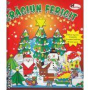 Craciun fericit - 93 de figurine detasabile , 5 modele origami , 9 hartii glace ( editura : Aramis ISBN 978-973-679-831-3 )