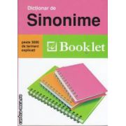 Dictionar de sinonime (editura Booklet isbn: 978-973-1892-93-1)