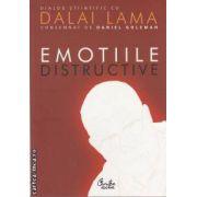 Emotiile distructive(editura Curtea Veche, autor: Daniel Goleman isbn: 978-606-588-087-0)