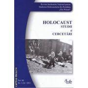 Holocaust studii si cercetari(editura Curtea Veche isbn: 2065-6602)