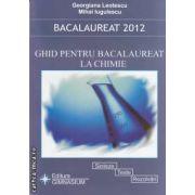 Ghid pentru bacalaureat la chimie 2012(editura Gimnasium, autori: Georgiana Leotescu, Mihai Iugulescu isbn: 978-973-7992-45-1)