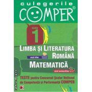 Teste pentru Concursul Scolar National de Competenta si Performanta COMPER clasa I (editura Paralela 45, autori: Elena Apastinii, Camelia Burlan, Florentina Danila isbn: 978-973-47-1303-5)