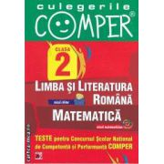 Teste pentru Concursul Scolar National de Competenta si Performanta COMPER clasa a II-a (editura Paralela 45, autori: Elena Apastinii, Camelia Burlan, Florentina Danila isbn: 978-973-47-1304-2)