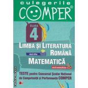 Teste pentru Concursul Scolar National de Competenta si Performanta COMPER clasa a IV-a (editura Paralela 45, autori: Elena Apastinii, Liliana Budurlean, Camelia Burlan isbn: 978-973-47-1306-6)
