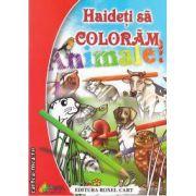 Haideti sa coloram animale! (editura Roxel Cart, autor: Nicoleta Ionescu isbn: 978-973-7927-99-6)