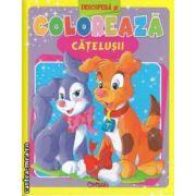 Descopera si coloreaza catelusii (editura Crisan isbn: 978-606-508-078-2)