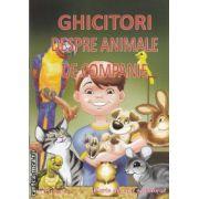 Ghicitori despre animalele de companie (editura Maxim Bit isbn: 978-606-549-094-9)