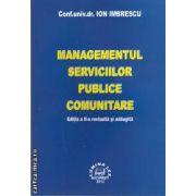 Managementul serviciilor publice comunitare ( editura , LUMINA LEX ,  autor: Conf. univ. dr. Ion Imbrescu , ISBN 978-973-758-215-7 )