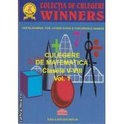 Culegere de matematica clasele V-VIII vol.1 (editura Succes Deplin isbn: 978-606-92344-2-6)