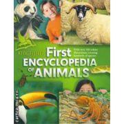 First ENCYCLOPEDIA OF ANIMALS ( editura: Macmillan , autor: John Farndon , Jon Kirkwood ISBN 978-0-7534-3185-6 )