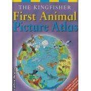First Animal Picture Atlas ( editura: Macmillan , autor: Deborah Chancellor ISBN 978-0-7534-1324-1 )
