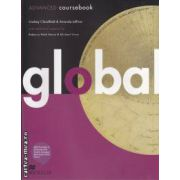 Global ADVANCED coursebook ( editura: Macmillan, autori: Lindsay Clandfield, Amanda Jeffries ISBN 978-0-230-03327-6 )