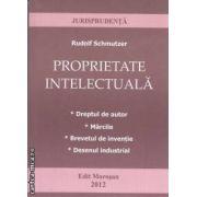 Proprietate intelectuala (editura Morosan , autor: Rudolf Schmutzer isbn: 978-606-8033-77-8)