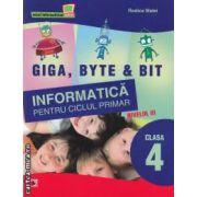 Informatica pentru ciclul primar nivelul 3 clasa a 4-a ( editura: Paralela 45 , autor: Rodica Matei ISBN 978-973-47-1250-2 )